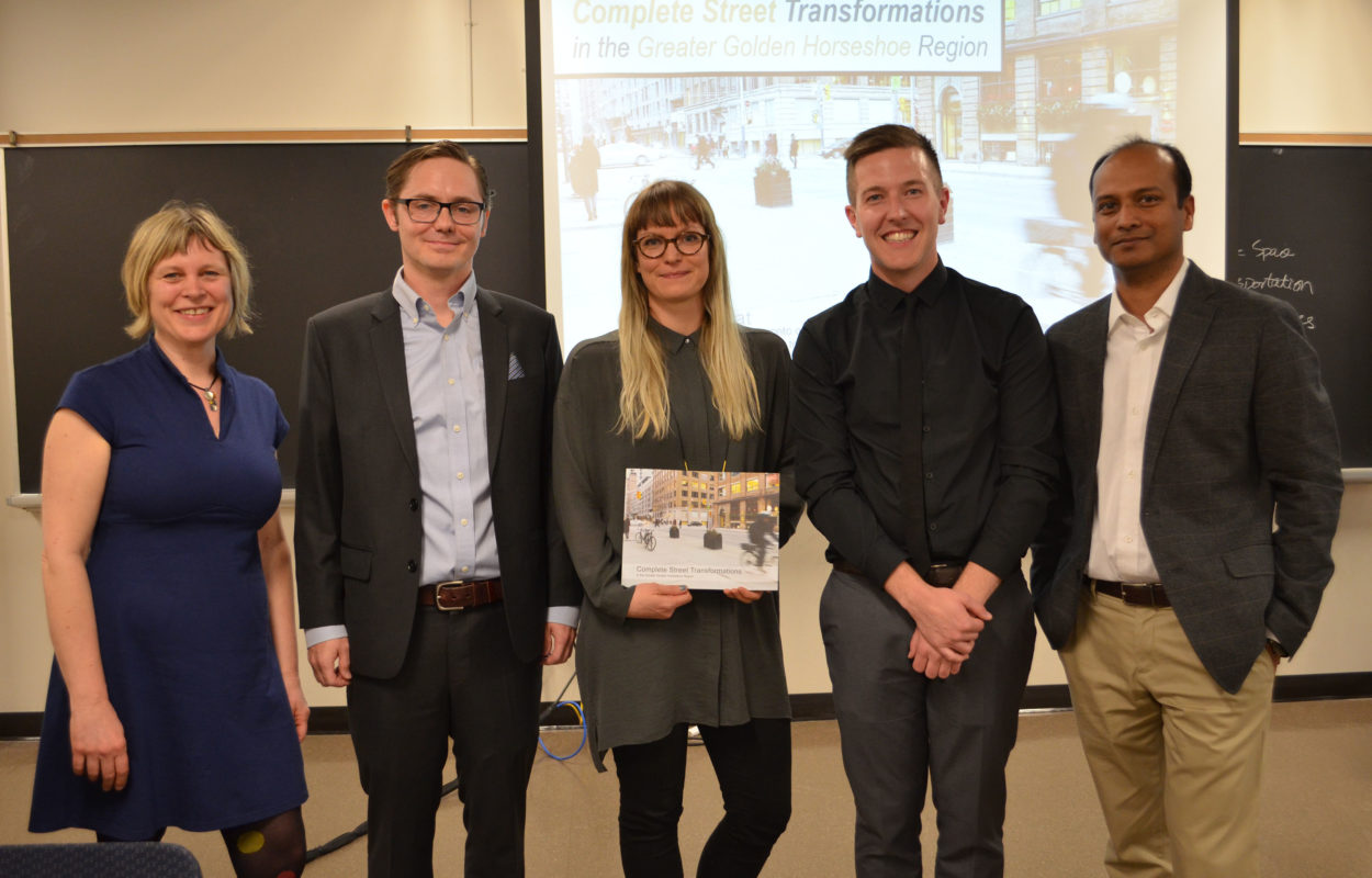 The project team for the Complete Streets Transformations book