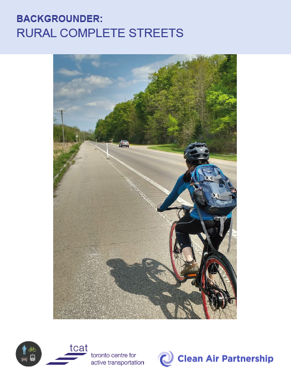 Cover Image for Rural Complete Streets Report